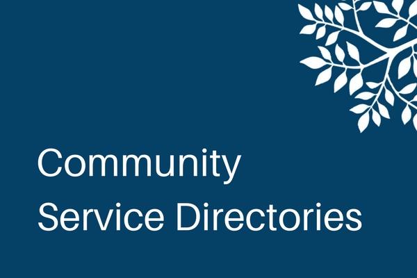 Community Service Directories