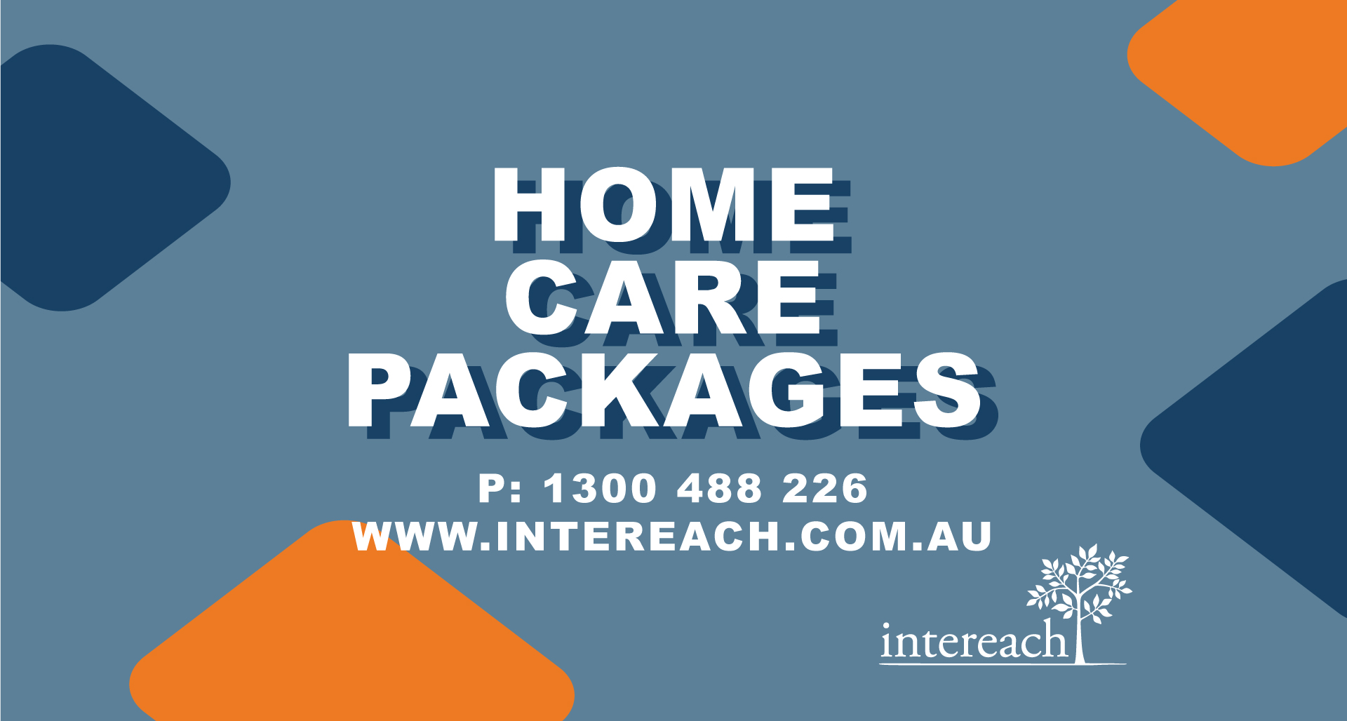 'Home Care Packages' poster