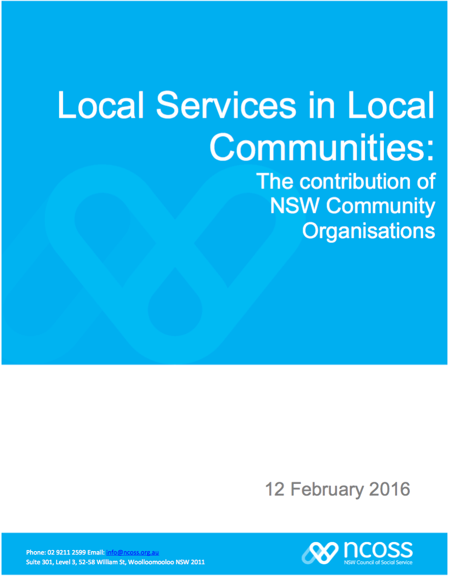 Local Services in Local Communities Research Report