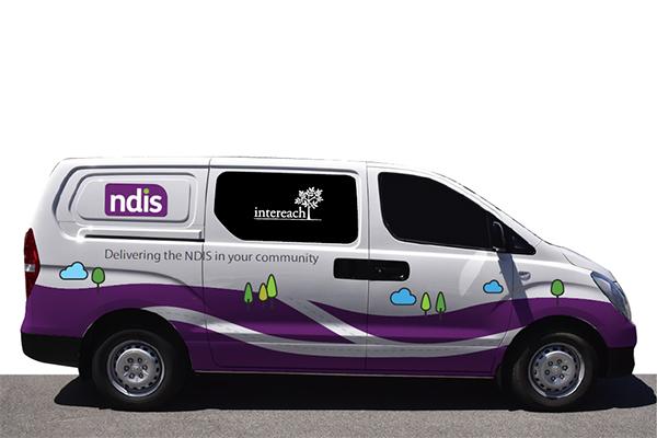 Ivan the NDIS information van
