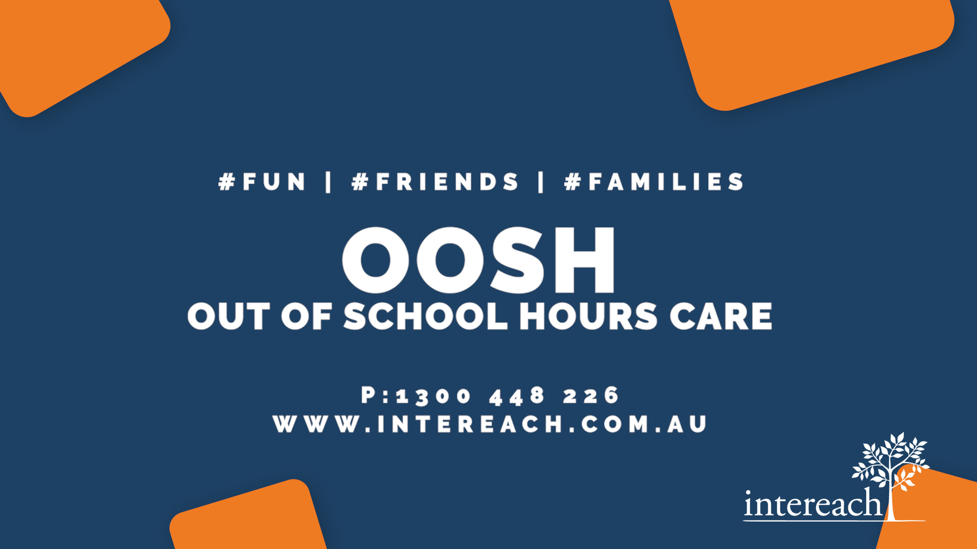 'Out of School Hours Care' contact information