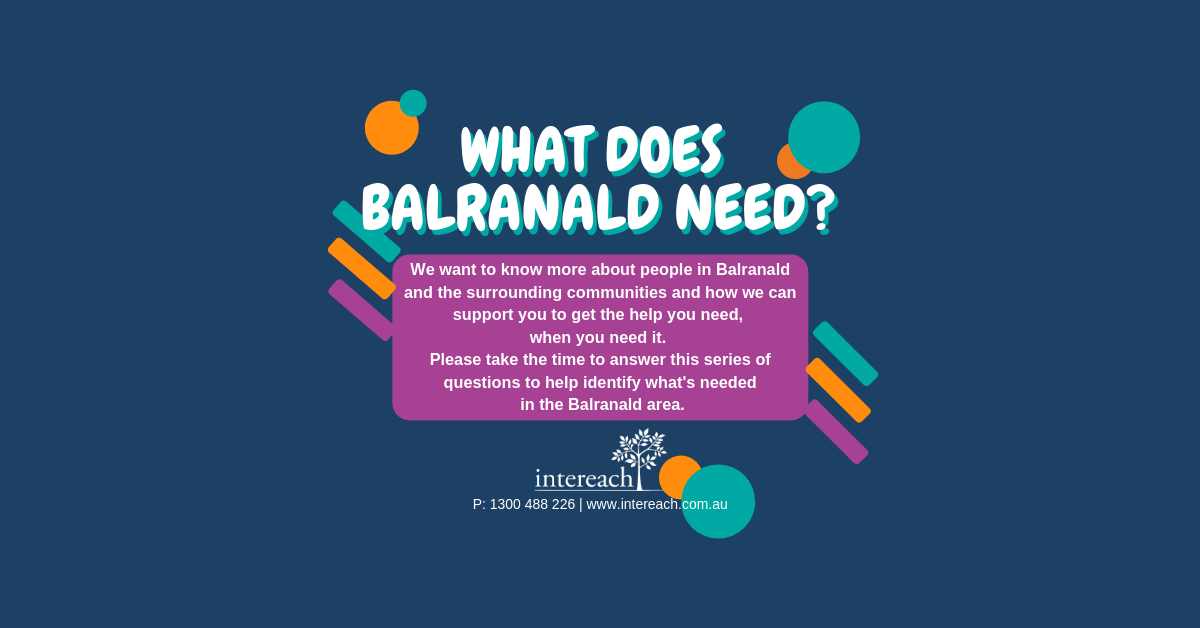 'What does Balranald Need?' poster