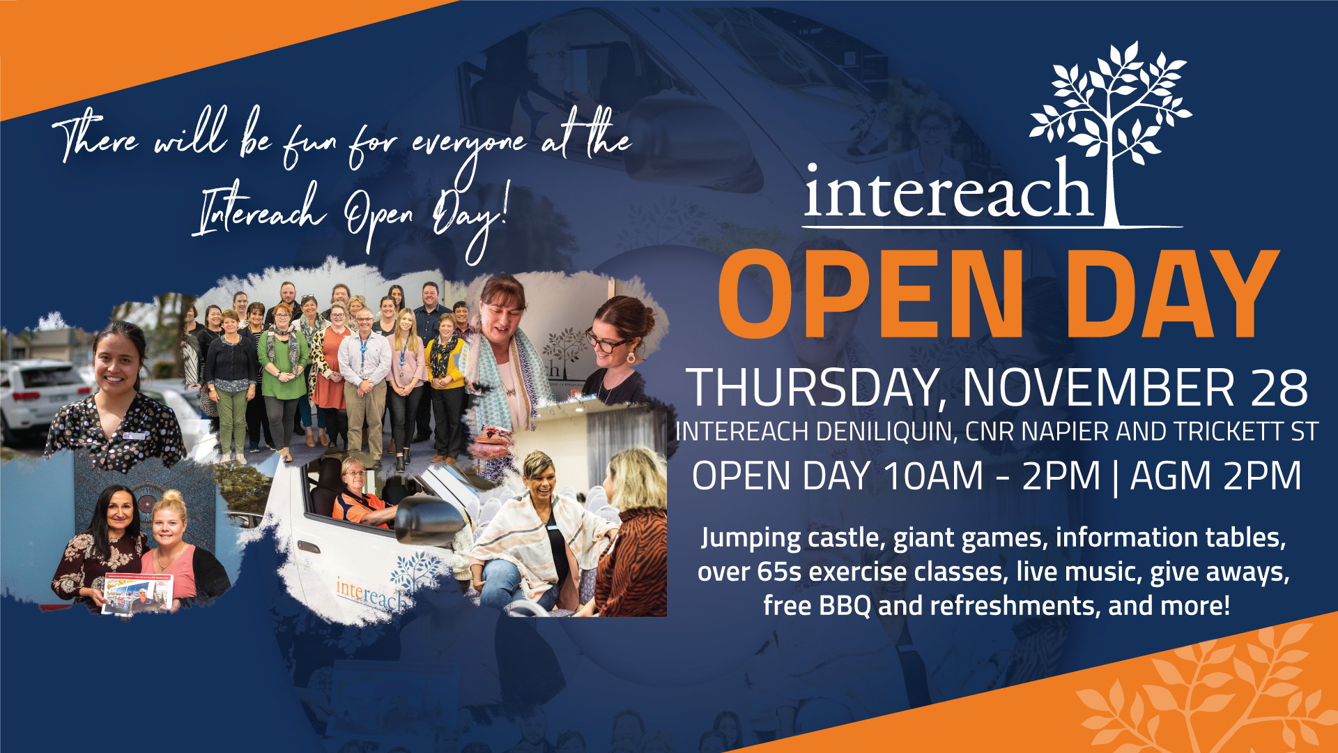 'Intereach Open Day' poster
