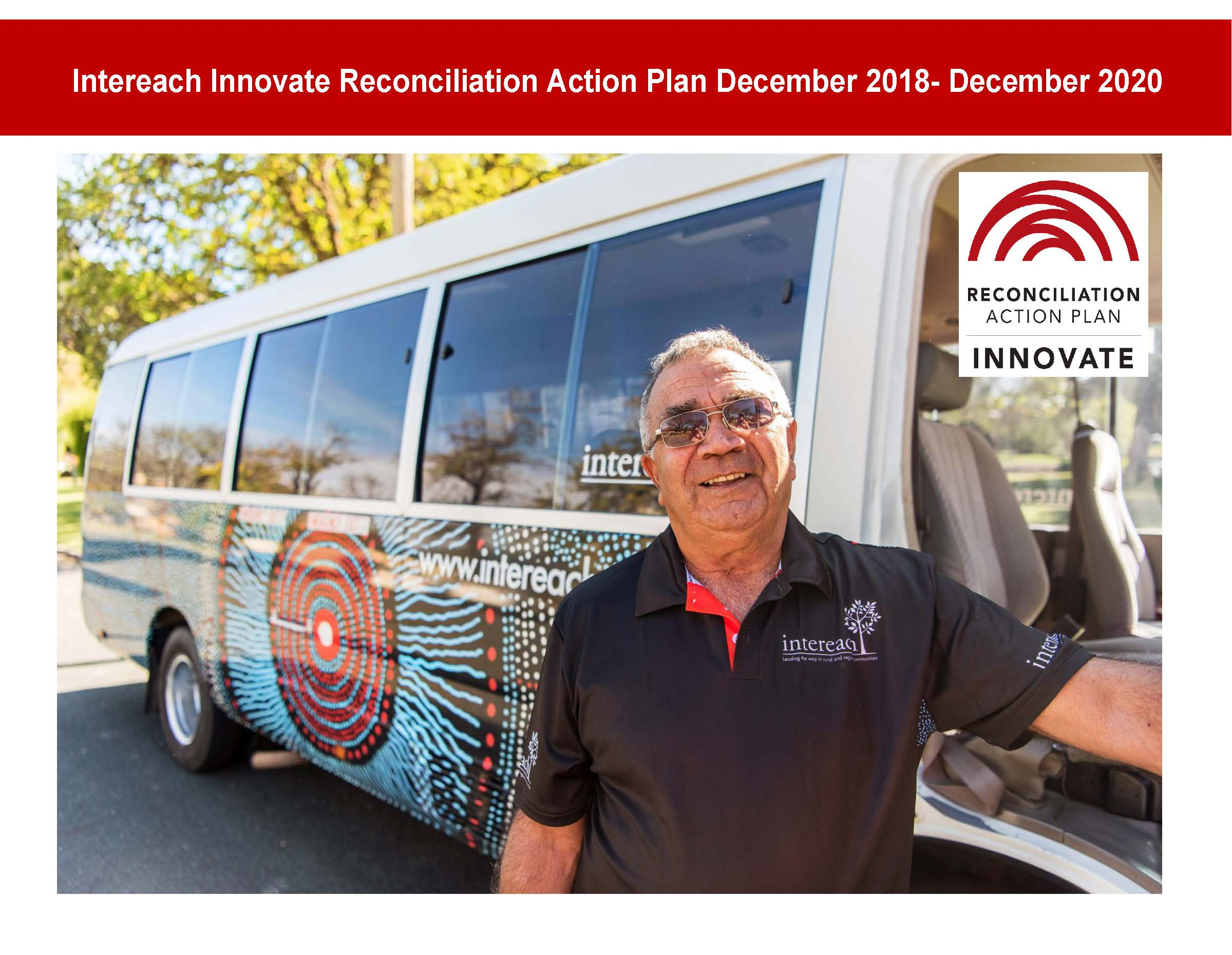 Intereach's Innovate Reconciliation Action Plan